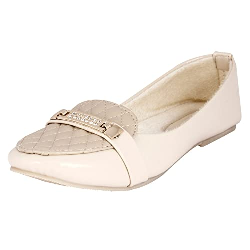 Buy Walk Footwear Women's Cream Resin
