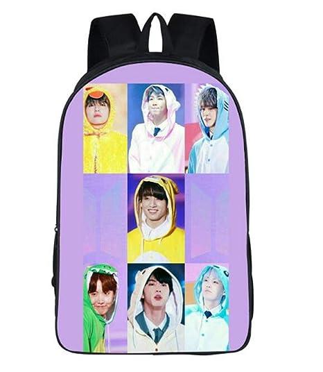 Amazon com : Imcneal Canvas Backpack Messenger Bag EXO