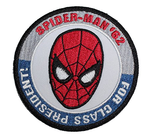 Application Marvel Comics (Retro) Spider Man President Patch