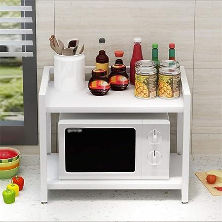 Liuxiaomiao - Estante de horno para microondas, 2 capas, estante para horno, armario doble, multifuncional, 60 x 50 x 40 cm, para cocina, baño, etc., metal, F, 60 x 50 x 40cm: Amazon.es: Hogar