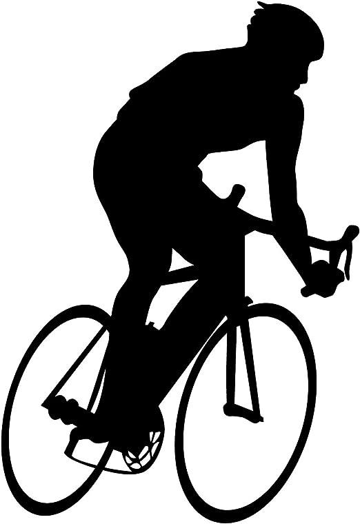 Bicicleta Pared Adhesivo 9 – Adhesivo mural de pegatinas y para ...