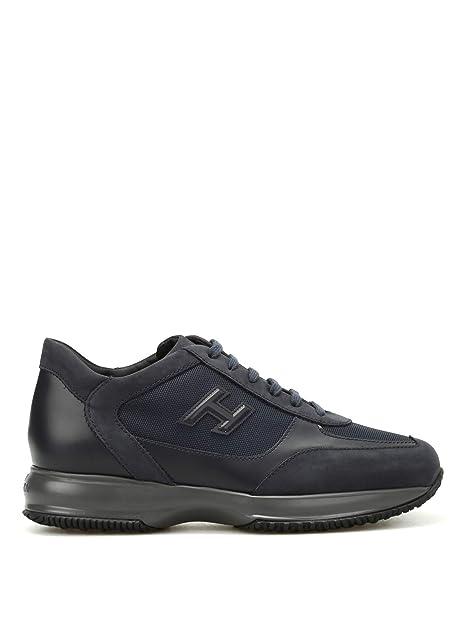 58b4c8e1123a8 Hogan Sneaker New Interactive H 3D HXM00N0I980E1I710E Blu Uomo ...