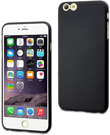 muvit MUSKI0346 Coque Thingel pour iPhone 6 Plus Noir