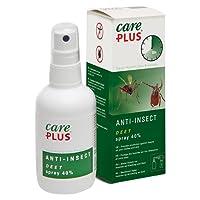 Care Plus Erwachsene Anti-Insect Deet 40% Spray 100ml, Transparent, 100 ml