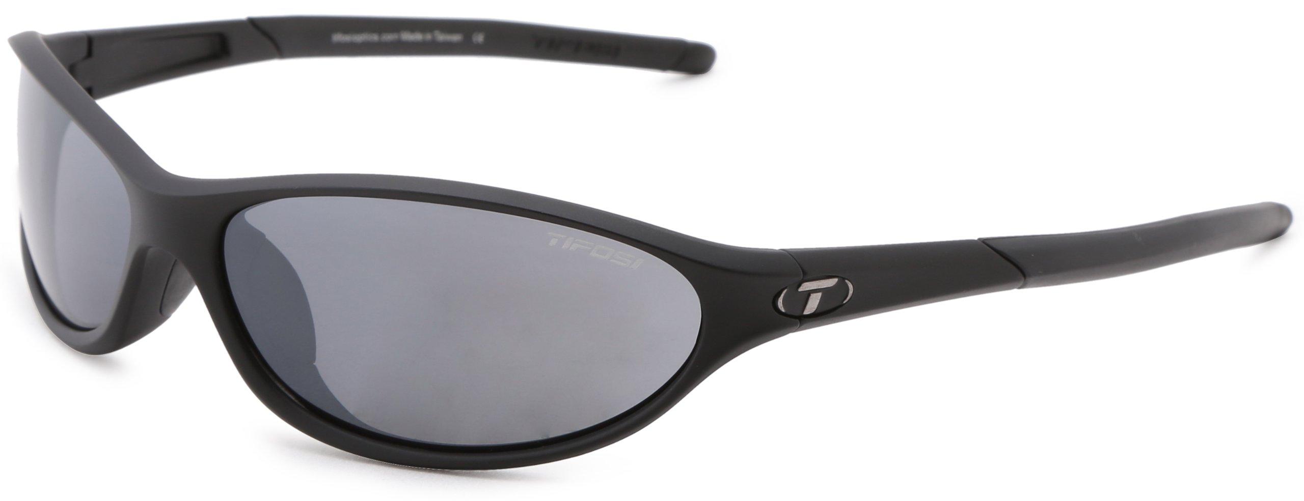 Tifosi Alpe 2.0 Dual Lens Sunglasses,Matte Black,62 mm