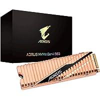 Gigabyte Aorus M.2 PCIe NVMe Gen4 SSD 500GB - 3D NAND TLC 5000/2500 MB/s