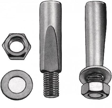 2 Stück Kurbelkeil Tretlagerkeil  9,5 mm Gewinde M 6