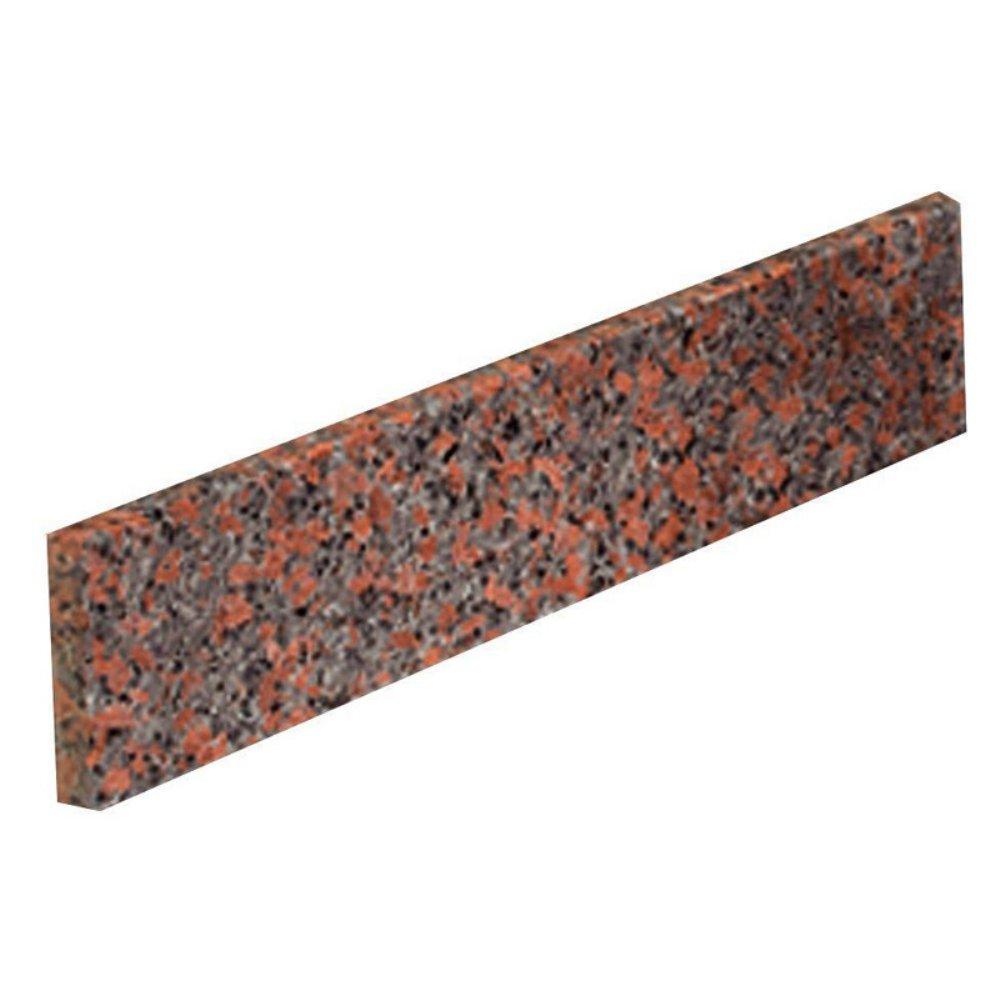 20 in. Granite Sidesplash in Terra Cotta