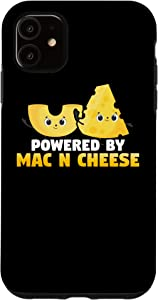 iPhone 11 Powered By Mac n Cheese - Cheese Food Lovers Case