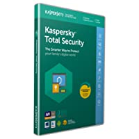Kaspersky Total Security 2018 | 3 Devices | 1 Year | PC/Mac/Android | Download