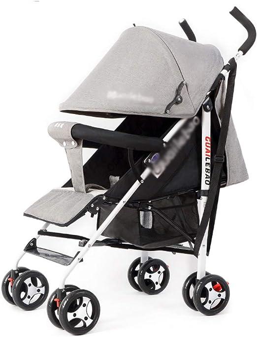 BabyCarriage El Cochecito ensanchado de Gran Altura el Cochecito de beb/é Universal de Cuatro Estaciones Puede Sentarse y Plegar el Cochecito