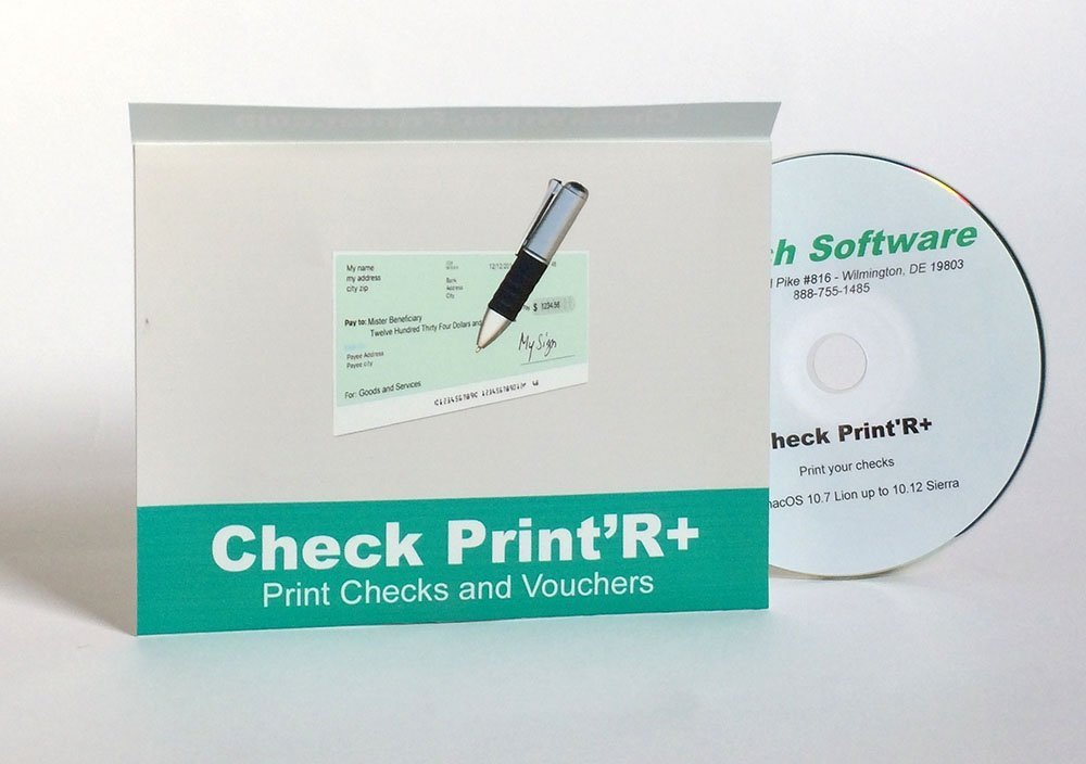 Check Print'R Windows : Print Checks Standard and Wallet size, one or three per page