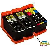 3 Pack for Dell Series 21, Series 22, Series 23, Series 24, V313, V313W, V515W, P153W, P713W
