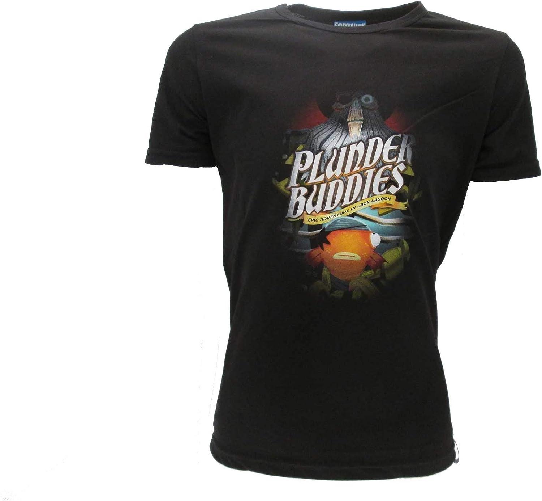Epic Games – Camiseta original Fortnite para niño Fishstick con cabeza de pescado, camiseta negra: Amazon.es: Ropa y accesorios