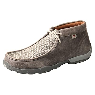 Twisted X Men's Chukka Leather Driving Mocs | Loafers & Slip-Ons