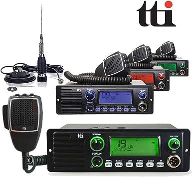 TTI tcb-1100 DSS 40 canales AM/FM FUNCIONAMIENTO CB Radio con ...