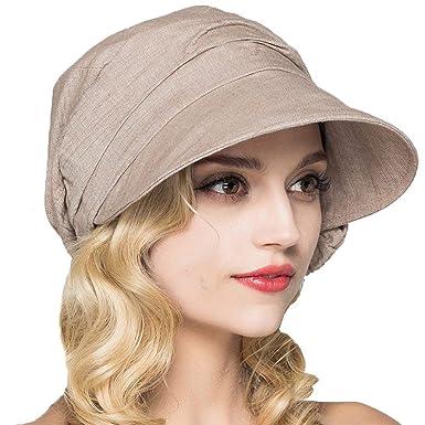 Sombrero De Sol para Mujer Elegante Verano Sombrero Ocasional De ...