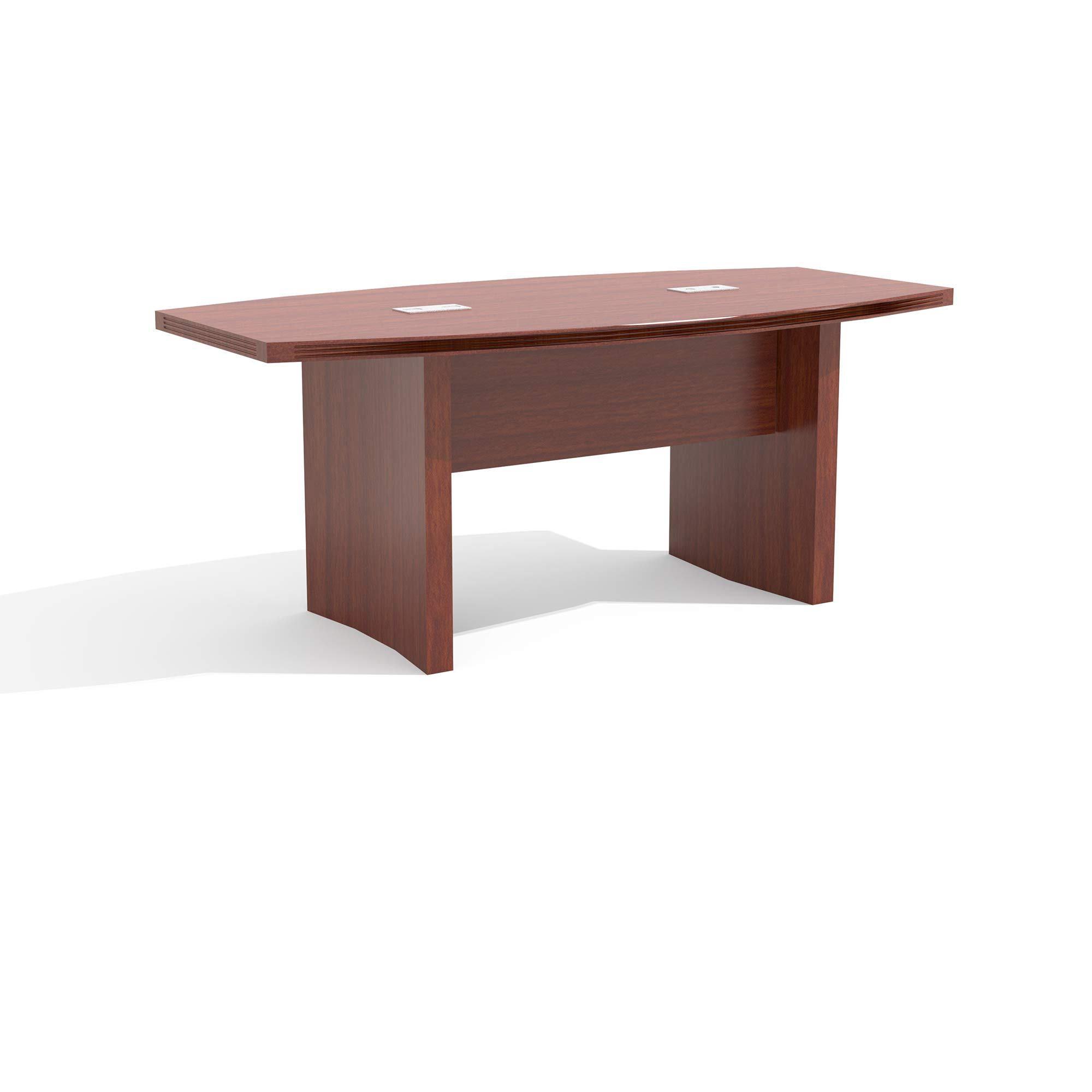 Safco Products Mayline Aberdeen Series Conference Table with Boat Surface,