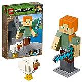 レゴ(LEGO) マインクラフト ビッグフィグ アレックスとニワトリ 21149