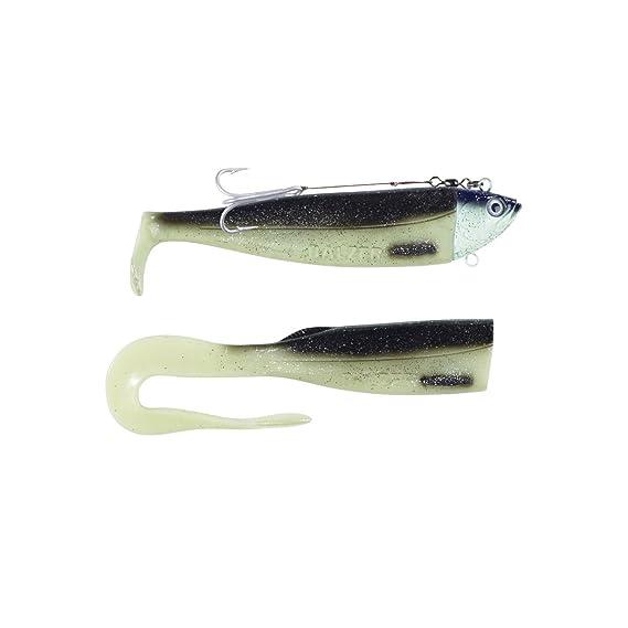 Balzer Adrenalin Arctic Eel 200g  Gummifisch für Meeresangler Dorsch Heilbutt