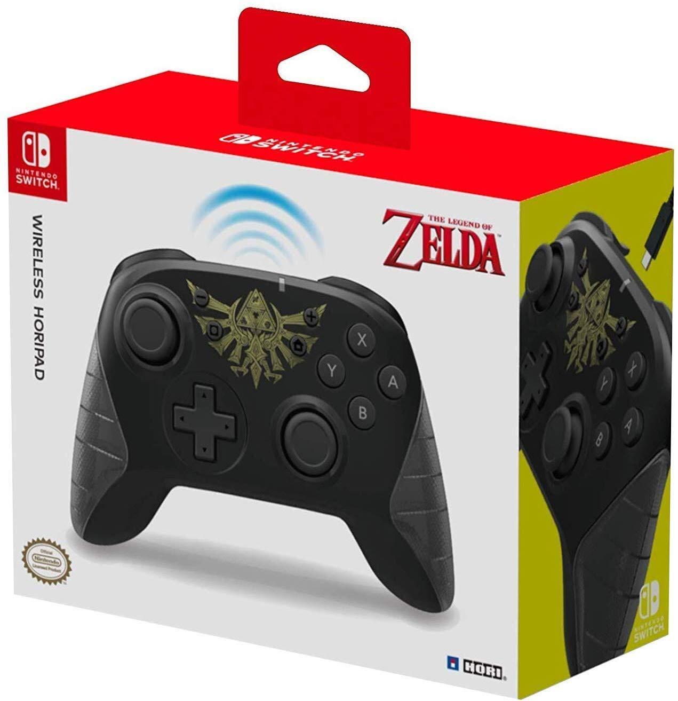 Nintendo Switch USB-C Wireless HORIPAD (Zelda) By HORI - Officially Licensed By Nintendo