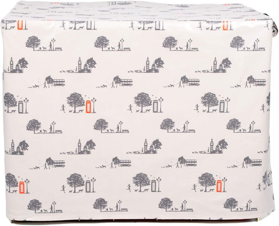 Country Park Print, Extra Large 42 Lords /& Labradors Oilcloth Dog Crate Cover to fit Ellie-Bo Crates