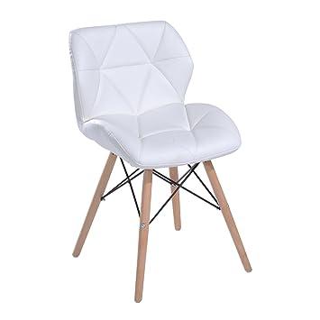 Bürostühle Holz homcom stuhl esszimmerstuhl küchenstuhl hocker bürostuhl holz w42 x