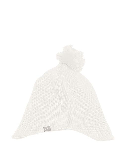7aa62aab724 Amazon.com  Nike New Women s Pom Pom White Winter Knit Beanie Hat ...