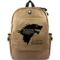 Game of Thrones Canvas Backpack Student Large-Capacity School Bag