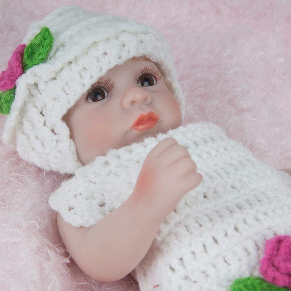 Hongge Reborn Baby Doll,Muñeca de Renacimiento Realista Parece Regalo de Juguete Real de muñeca de bebé 28cm
