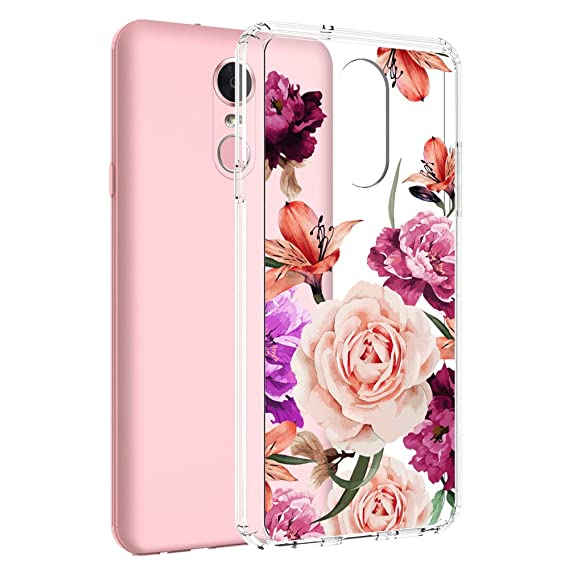 super popular 1c169 d2ace LG Stylo 4 Case, LG Q Stylus Case, LG Stylo 4 Plus Case, LG Stylus 4 Case,  Vinve [Crystal Clear] Anti-Scratch Shockproof Cover Clear Hard Back Panel +  ...