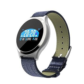 Y7 Smart Watch presión Arterial Medidor de frecuencia cardíaca ...