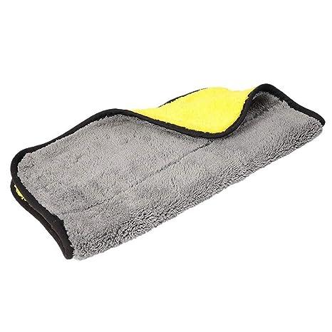 ISKYBOB 2 Piezas Toalla de Microfibra para Coche, Paño de Limpieza para Secado, Encerado