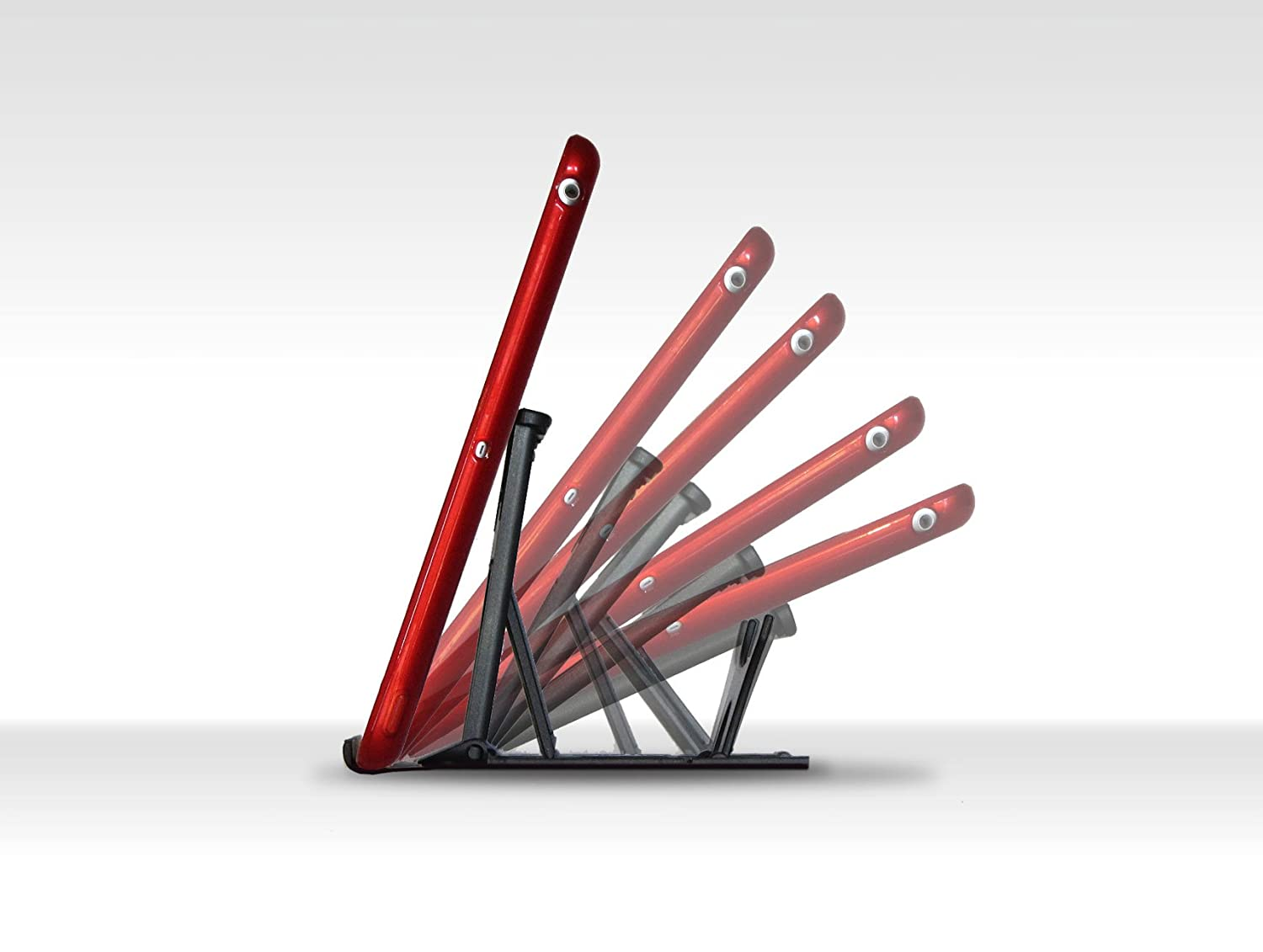 Ultimate Stable Support Compatible With All iPads Office For Desktop Aqua Tablets iPhones Kitchen /& in Bed! Cookery Books /& More Pocket Adjustable iPad Stand
