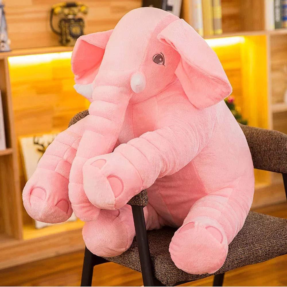 YRBB Peluche Neonati Peluche Elefante Cuscino Morbido Appease Elefante Cuscino Playmate Calm Doll Baby Peluche Giocattoli Regalo di Natale 40Cm Peluche