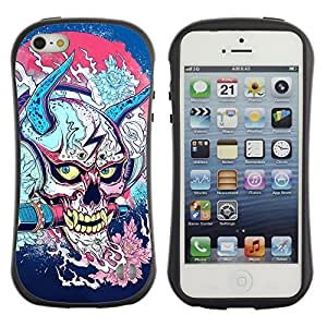 High quality Case for Apple iPhone 6 plus 6 plus Japanese Skull Monster