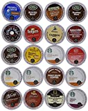 20 Count Single Serve 2.0 Sampler - Ultra Versatile, Premium Coffee Variety Pack for Keurig Single Serve Cup Brewers and Keurig 2.0 Brewers. Works On Any Keurig Sinlgle Serve Brewer.