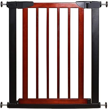 GFFTYX Barrera De Seguridad del Bebé, Puerta de Seguridad Madera Maciza Infantil Protección de escaleras for niños Barras de Seguridad Barrera de Aislamiento for Mascotas Cerca Fácil Dde Instalar: Amazon.es: Hogar