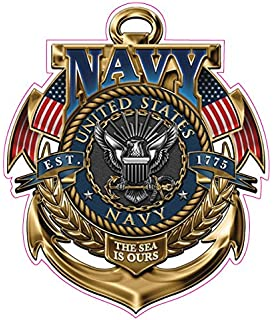 amazon com united states navy i have earned it decal is 5 in size
