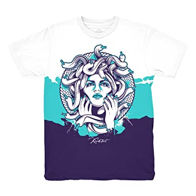 e34de66b8df42 Grape 5 Fresh Prince Medusa Shirt to Match Jordan 5 Grape Fresh ...