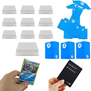 1000 Clear Card Sleeves 66x91 mm Perfect Size for Boardgame TCG Standard Cards