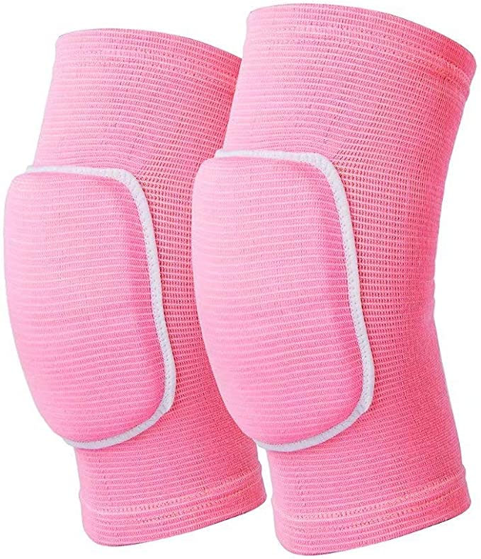 MMA Volleyball Wrestling Padded Knee Pads Protectors Martial Art Workwear Guard