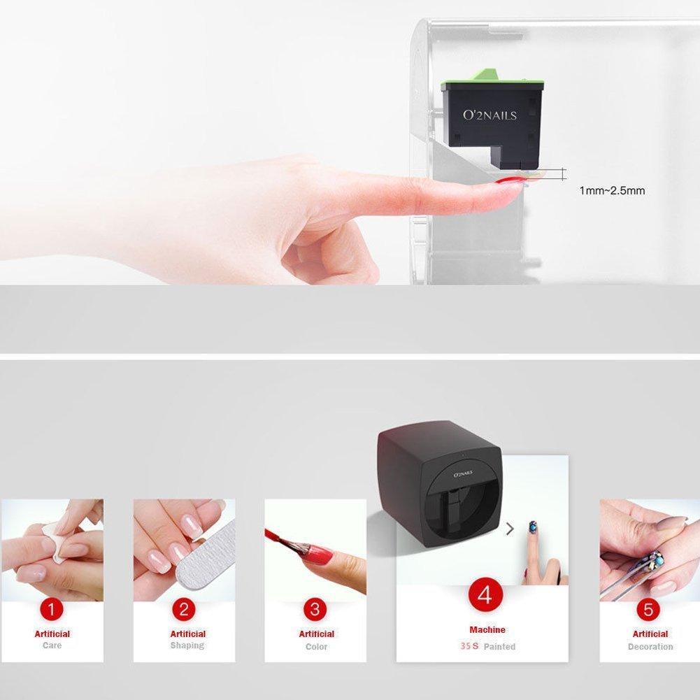 Amazon.com: O2nails - Esmalte de uñas mini digital para ...