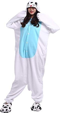 Pijama Animados Kigurumi Cosplay León Marino Azul Animal para ...