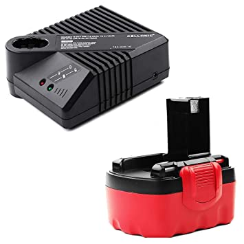 CELLONIC® Batería Premium 14.4V, 3Ah, NiMH + Cargador ...
