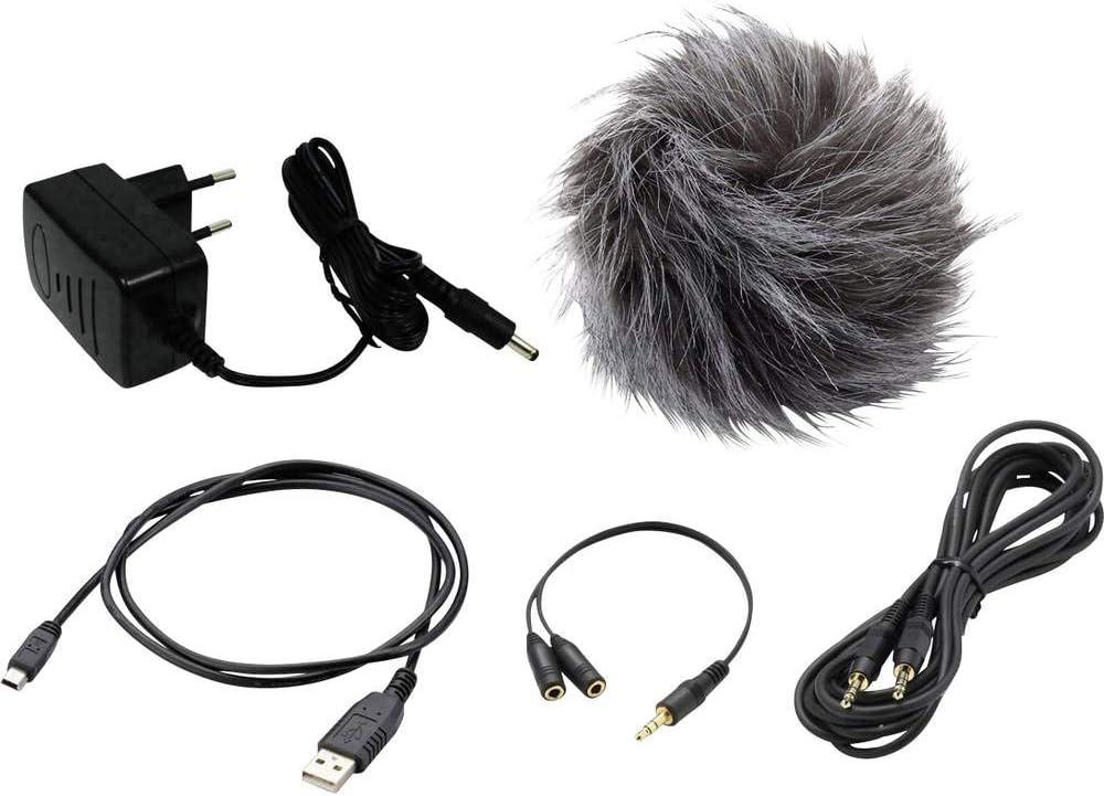 Zoom APH-5 Zubehörset für H5 Recorder Windschutz Kabel Fernbedienung Netzteil
