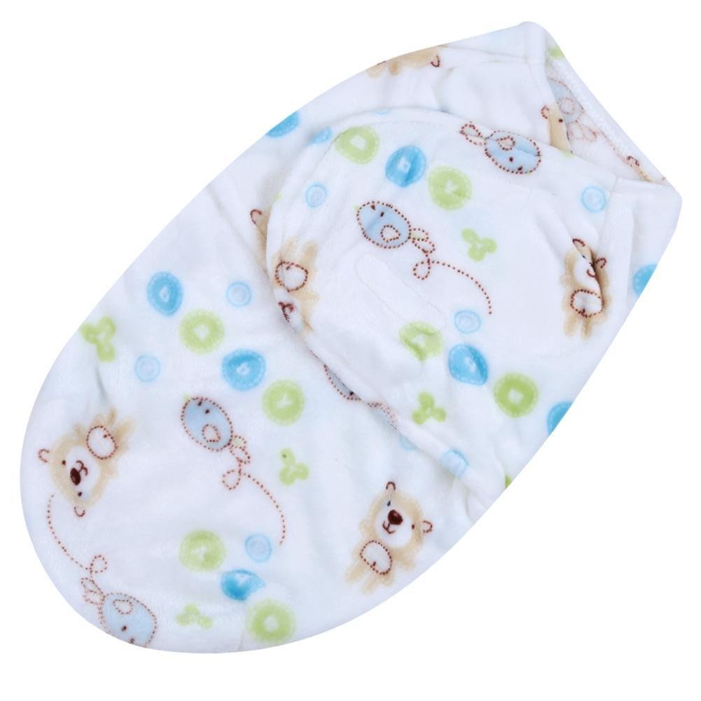 Everpert Baby Swaddle Wrap Newborn Blanket Swaddling Sleeping Bag(owl)