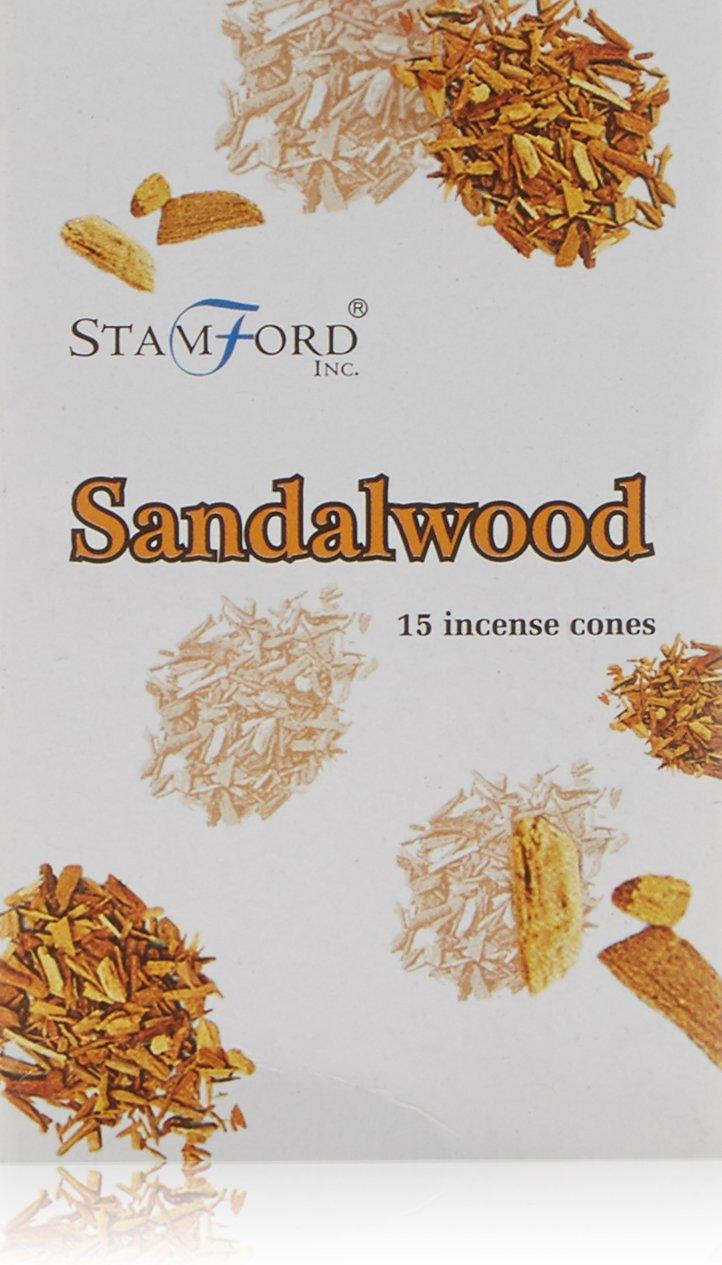 Stamford - Coni di incenso, sandalo Aargee R-37164