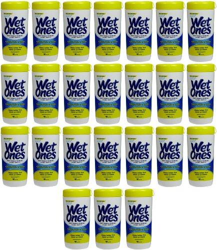 Wet Ones Antibacterial Wipes Citrus Scent 960ct (24 x 40ct)
