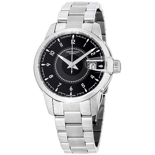 Hamilton American Classic Reloj de hombre automático 38mm H40415135: Amazon.es: Relojes